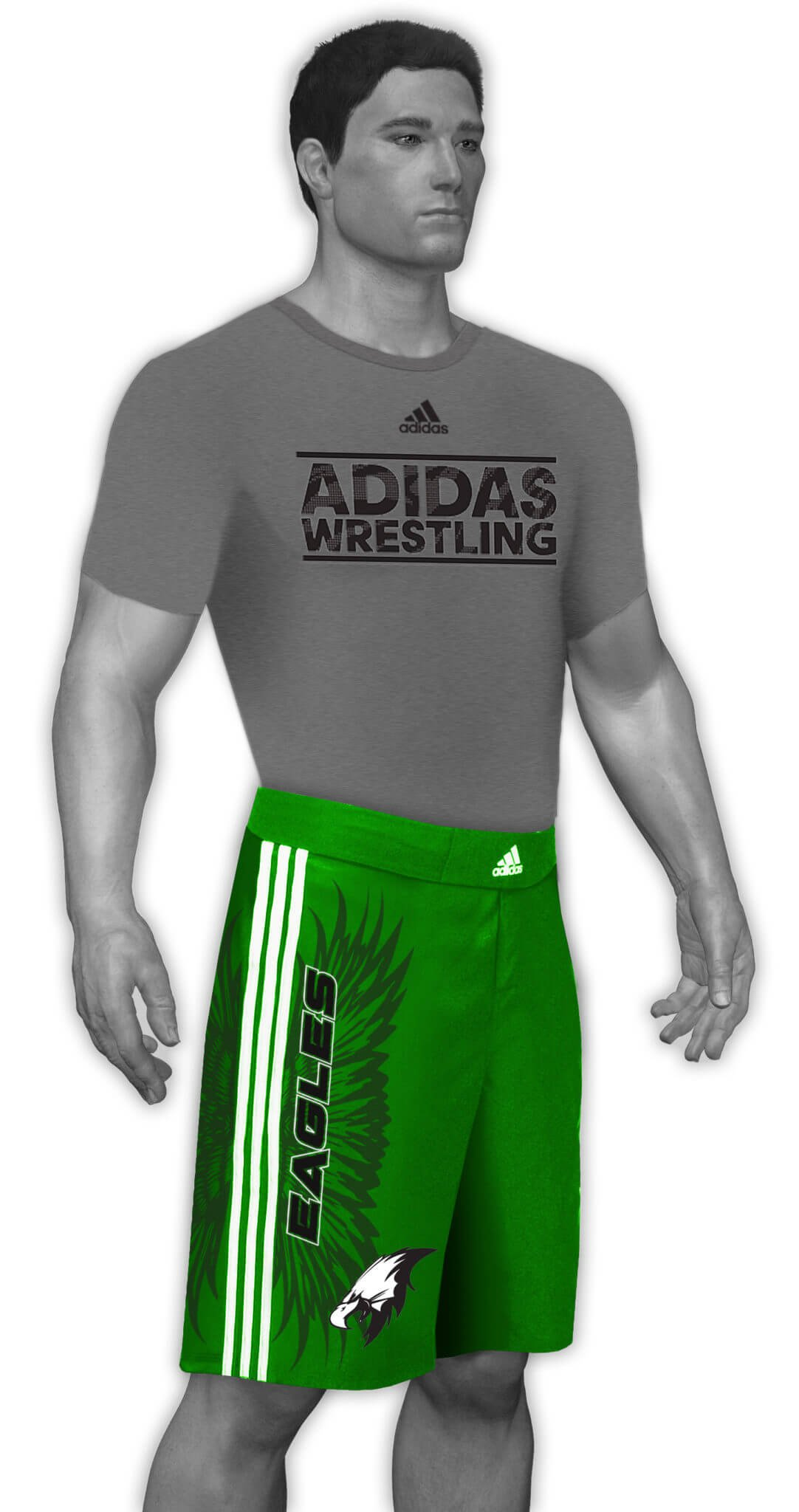 Sublimated Grappling Shorts aA209c-01-04