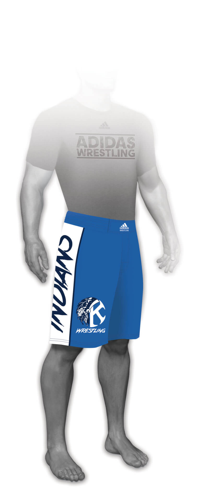 Sublimated Grappling Shorts aA209c-05